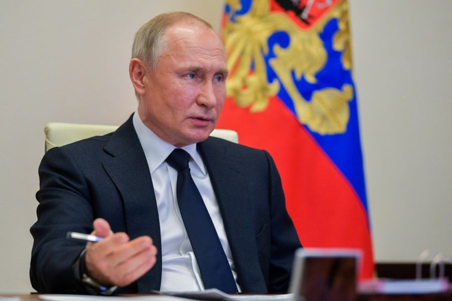 <p>Президент России Владимир Путин. Фото © ТАСС / Алексей Дружинин / Пресс-служба Президента РФ</p>