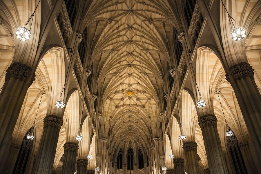 <p>Собор Иоанна Богослова в Нью-Йорке. Фото © Pixabay</p>
