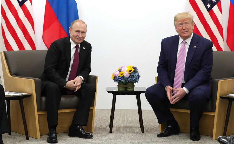 <p>Президент России Владимир Путин и президент США Дональд Трамп. Фото © Kremlin</p>