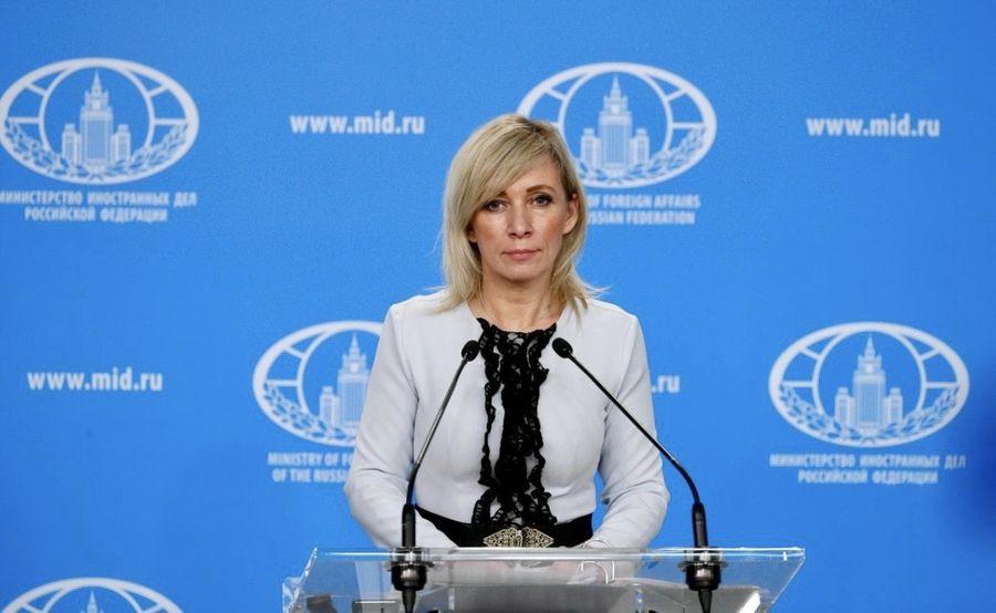 "<p>Мария Захарова. Фото © <a href=""https://www.mid.ru/ru/foreign_policy/news/-/asset_publisher/cKNonkJE02Bw/content/id/4004544"" target=""_blank"" rel=""noopener noreferrer"">МИД РФ</a></p>"