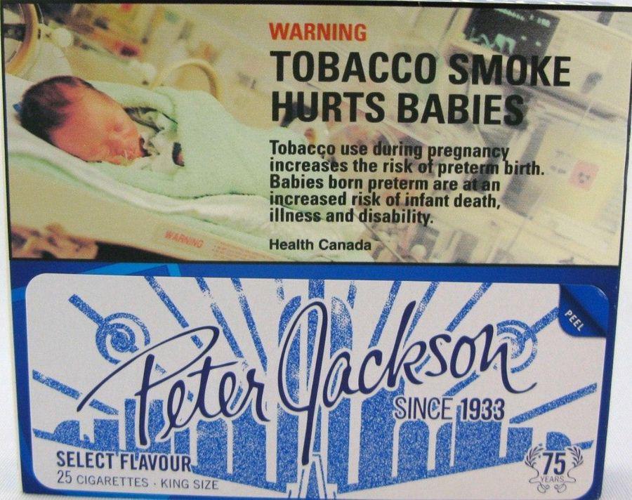 В Канаде апеллируют к тому, что от курения страдают дети