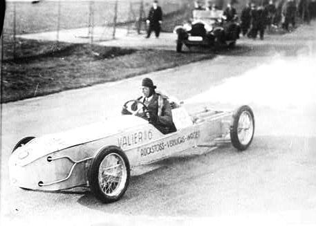 Макс Валье, апрель 1930 года. Фото © Wikipedia