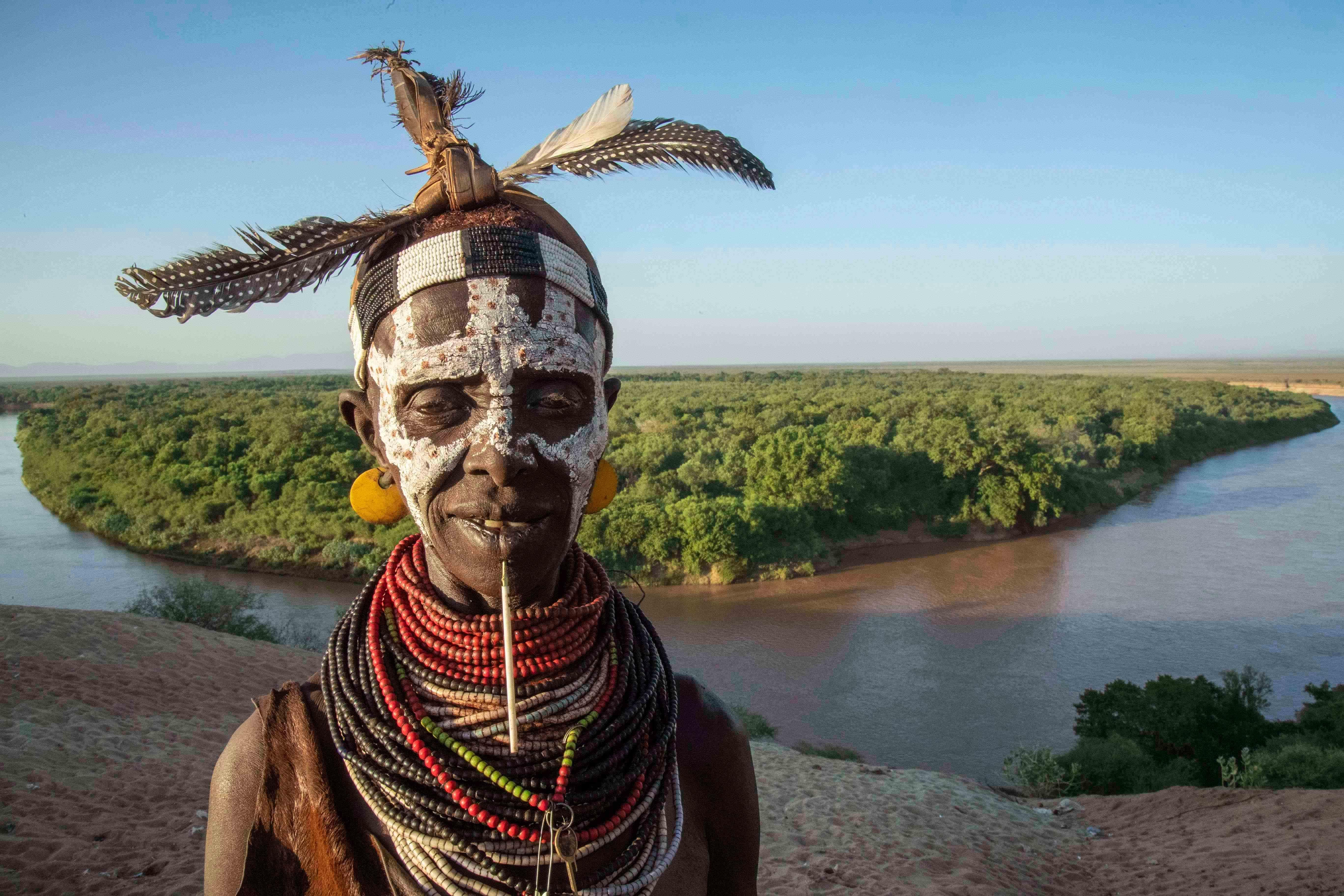 популярной, африканские племена нила фото рассказываю как коптим