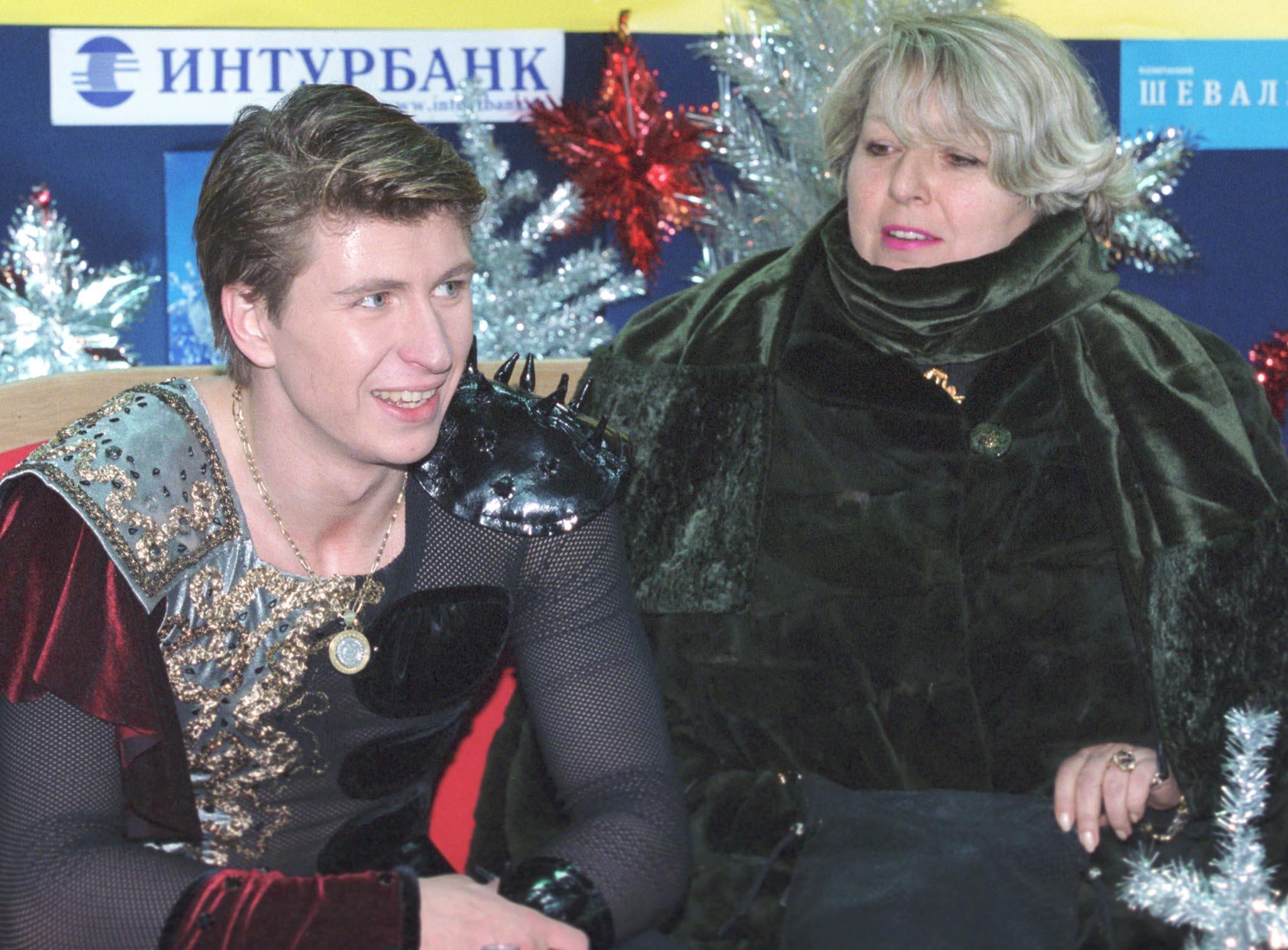 Ягудин и Тарасова в 2000 году. Фото © ИТАР-ТАСС / Олег Булдаков