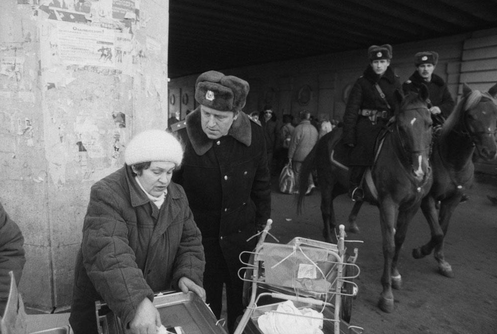 Милиция 90-х. Фото ©ТАСС / Алексей Антонов