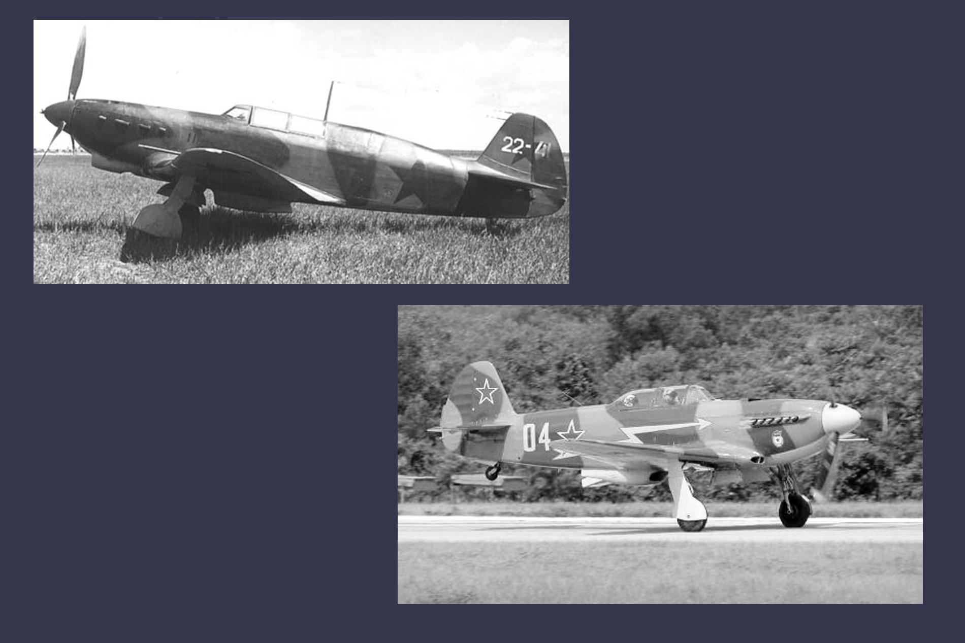 ЯК-7 и ЯК-9. Фото ©Wikipedia