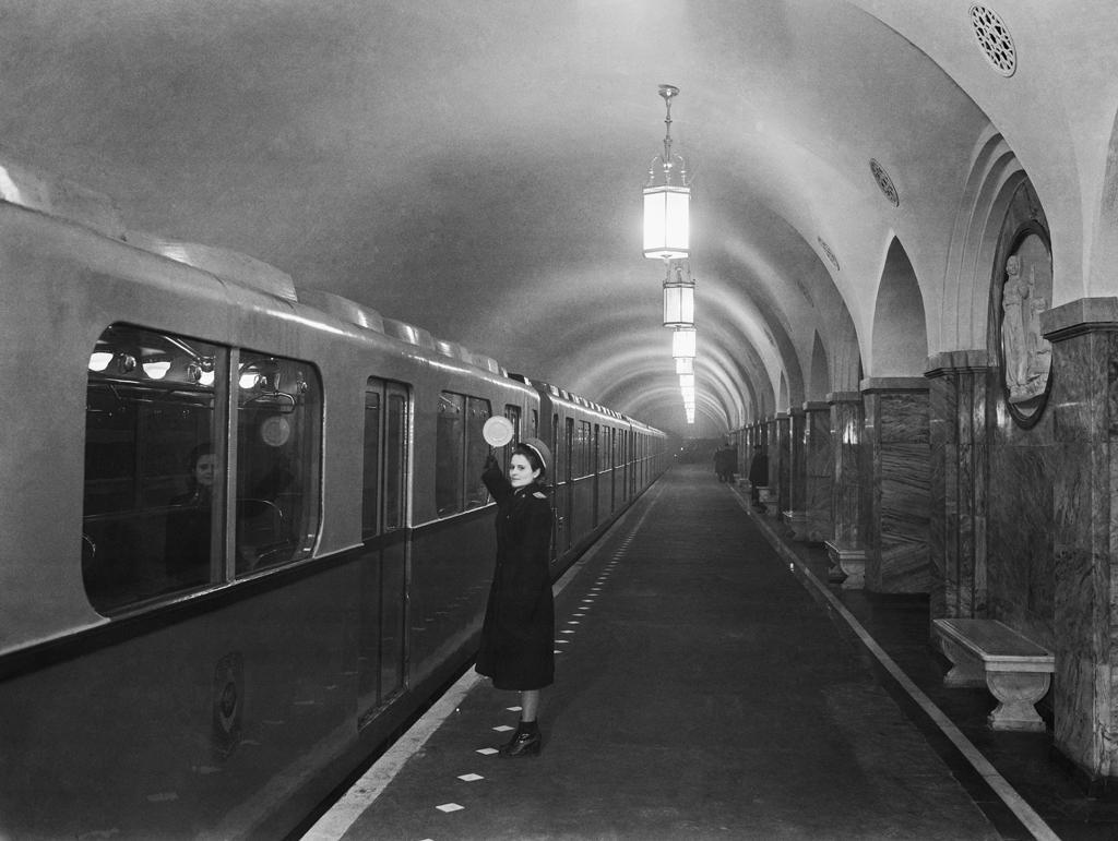 "Станция метро ""Парк культуры"". Фото © Фотохроника ТАСС"