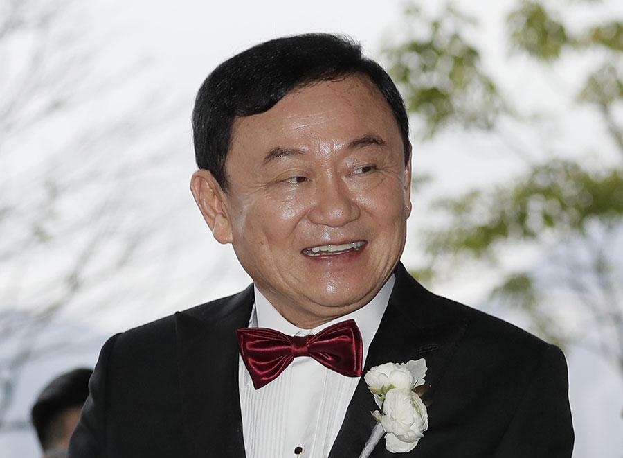 Таксин Чинават. Фото © ТАСС / AP Photo / Kin Cheung