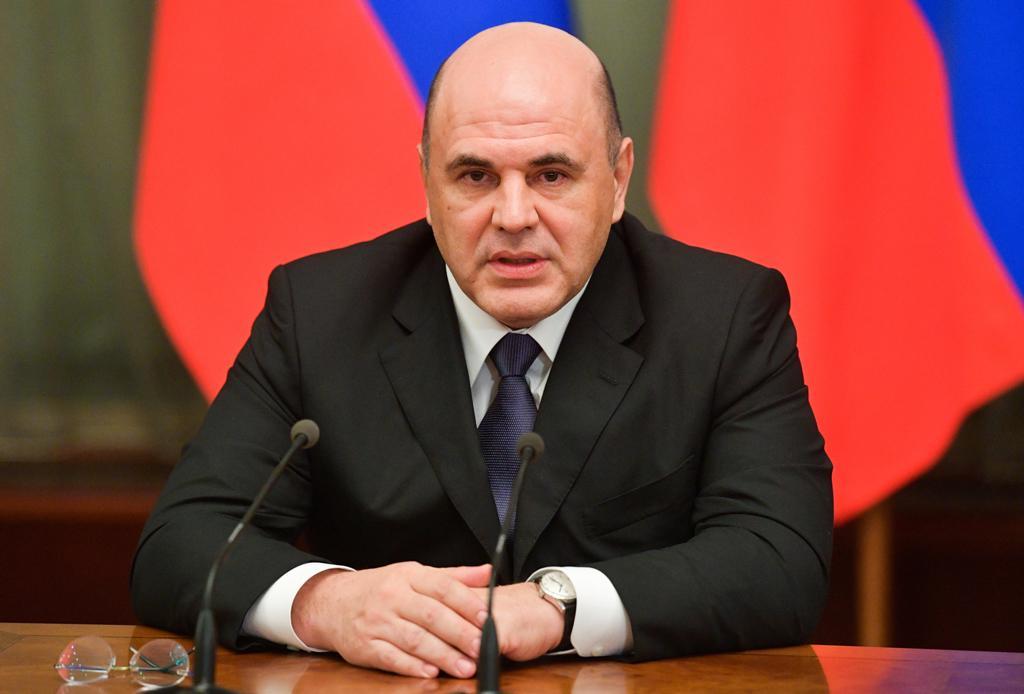 Михаил Мишустин. Фото © ТАСС / Александр Астафьев / POOL