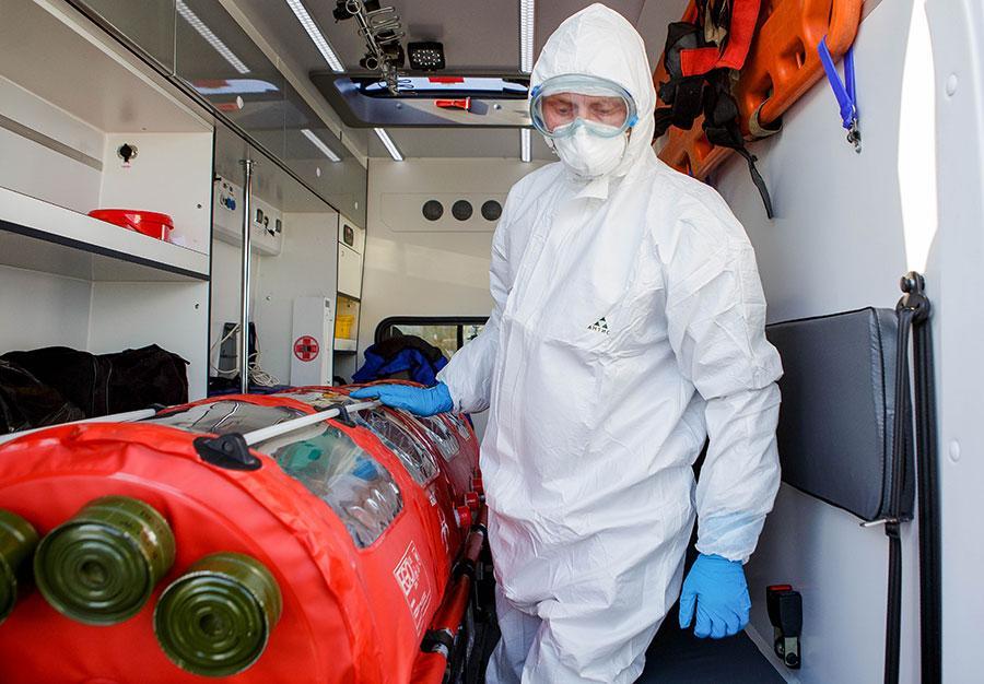 Жительницу Воронежа госпитализировали для проверки на коронавирус