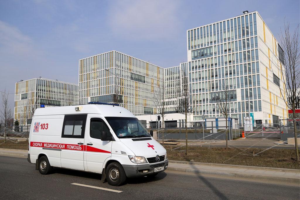 Более 200 пациентов с коронавирусом находятся в Коммунарке