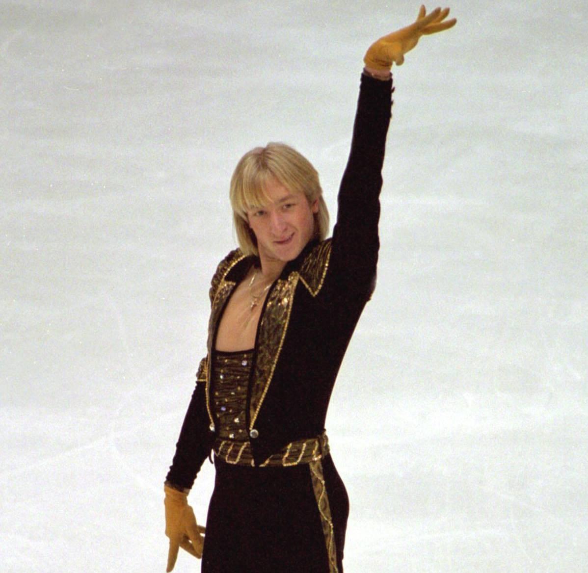 Евгений Плющенко за несколько месяцев до Олимпиады-2002.  Фото © ИТАР-ТАСС / Вячеслав Евдокимов
