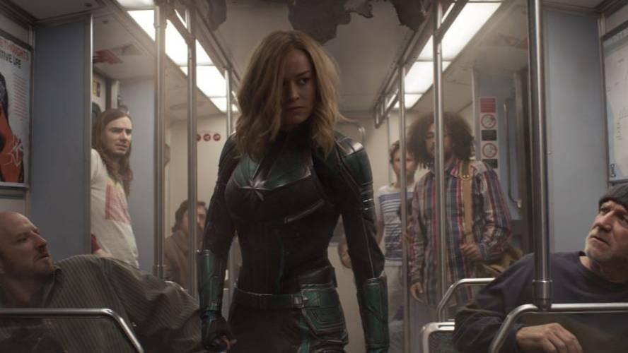 "Кадр из фильма ""Капитан Марвел"". Фото © Marvel Studios"