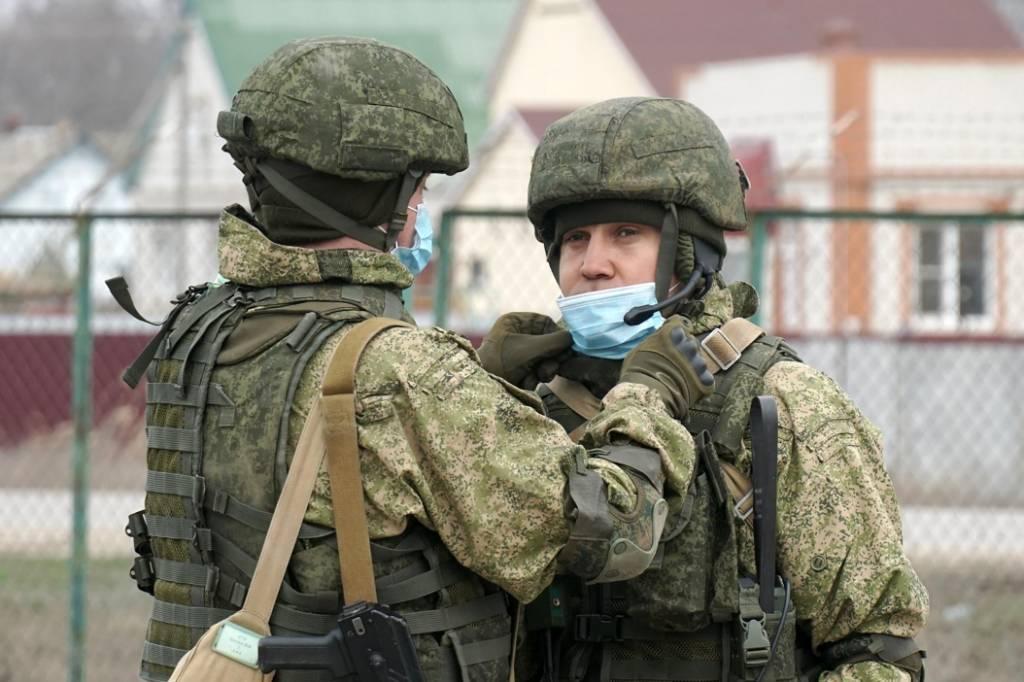 Фото © ТАСС / Пресс-служба Южного военного округа РФ