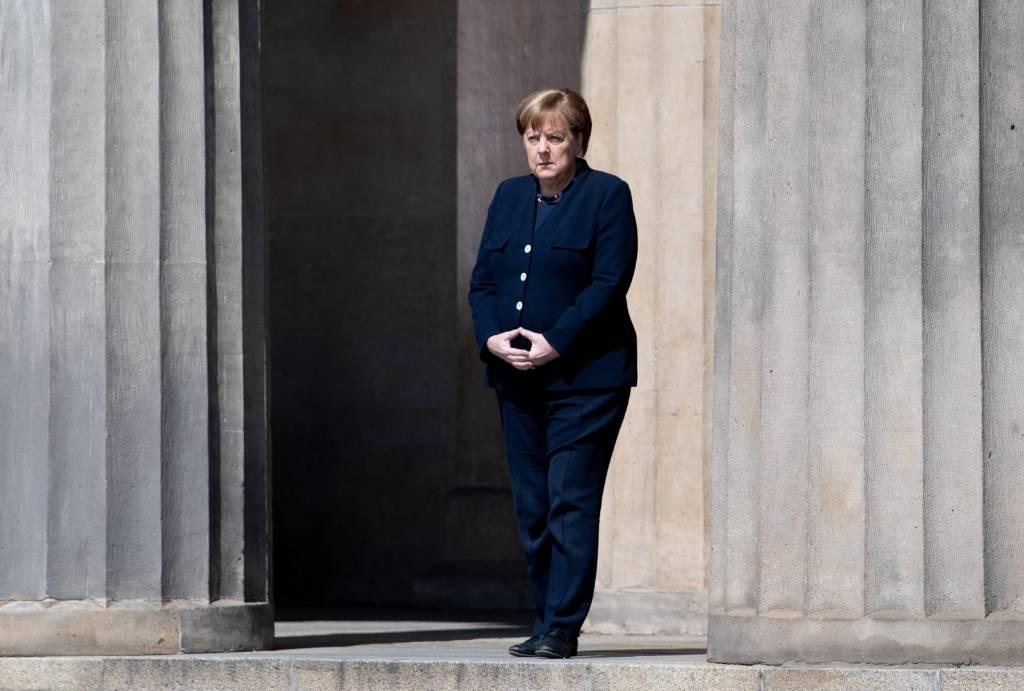 <p>Канцлер Германии Ангела Меркель. Фото © ТАСС / EPA / FILIP SINGER</p>