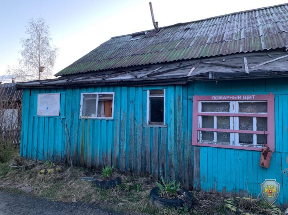 Дом, в котором укрывались боевики. Фото © НАК