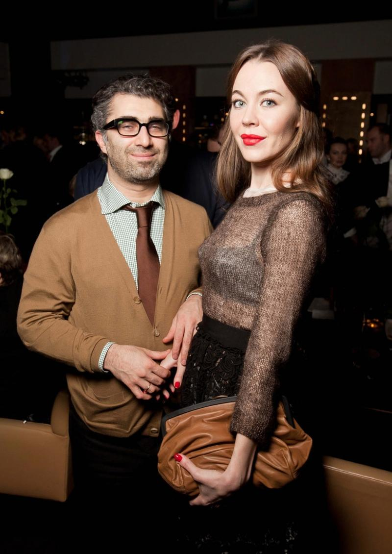 Со второй женой Ульяной Сергеенко. Фото ©hochu.ua