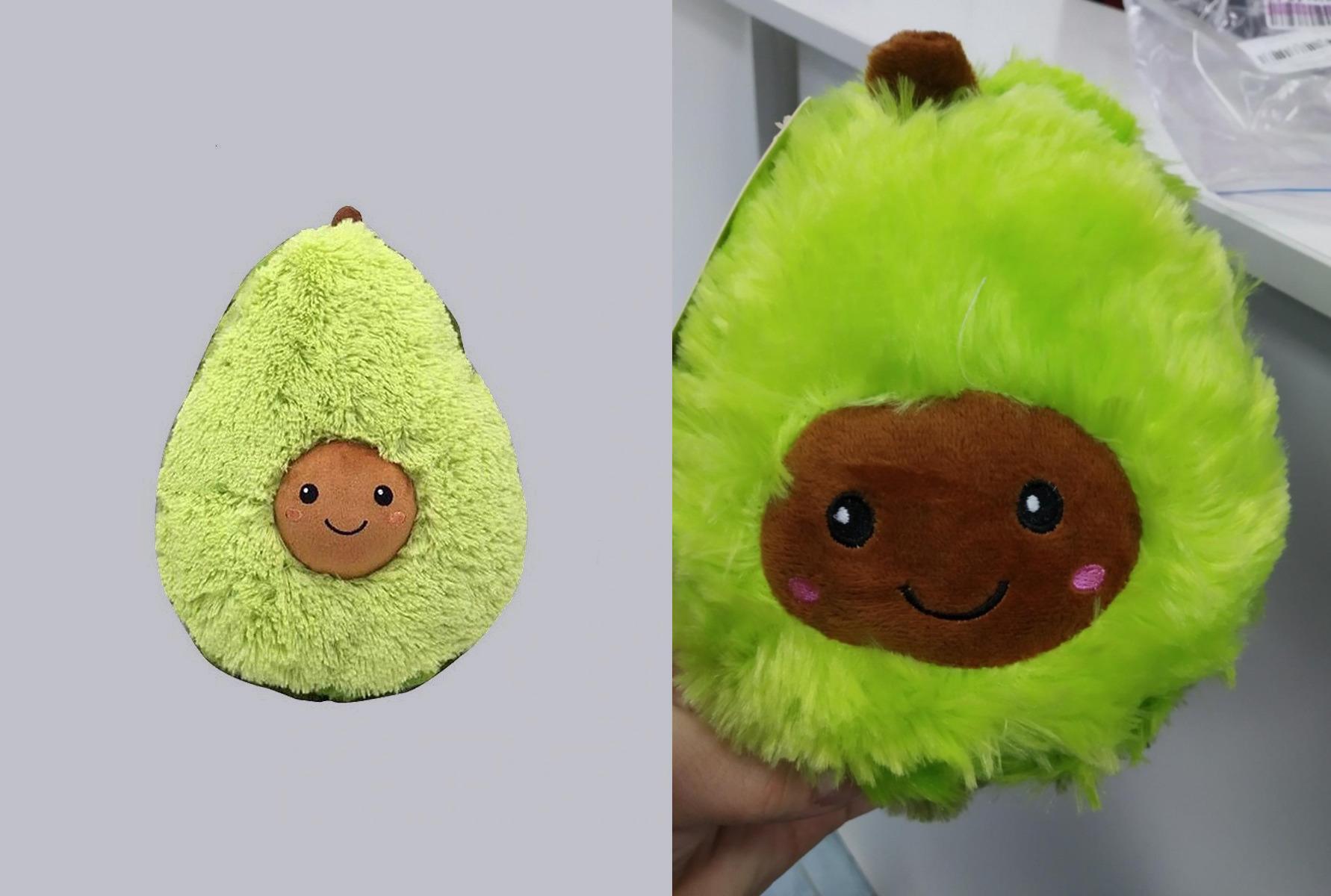 Слева игрушка, которая рекламируется на сайте. Справа — которую доставили. Фото © Wildberries.ru