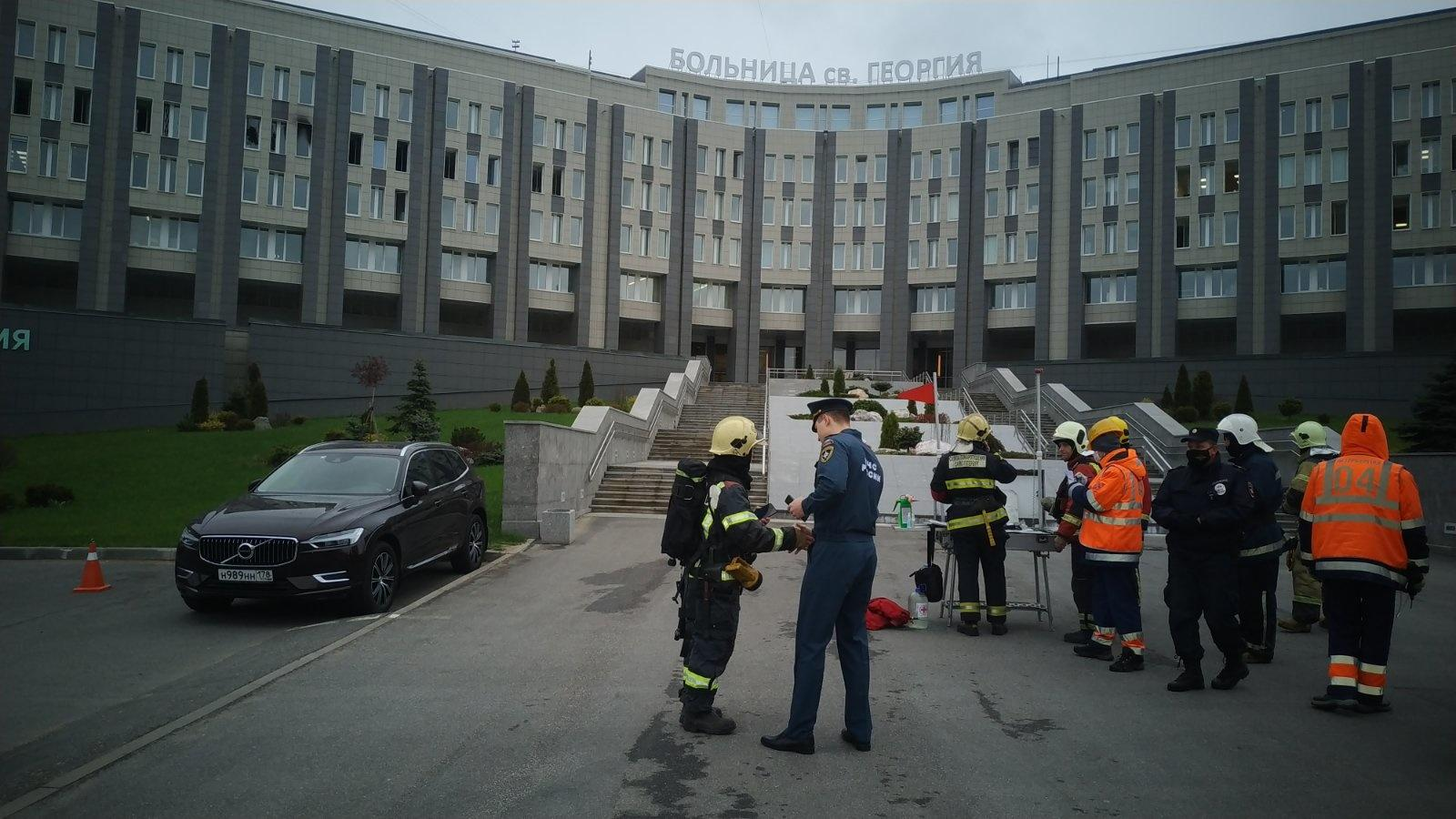 Фото © ГУ МЧС РФ по Санкт-Петербургу