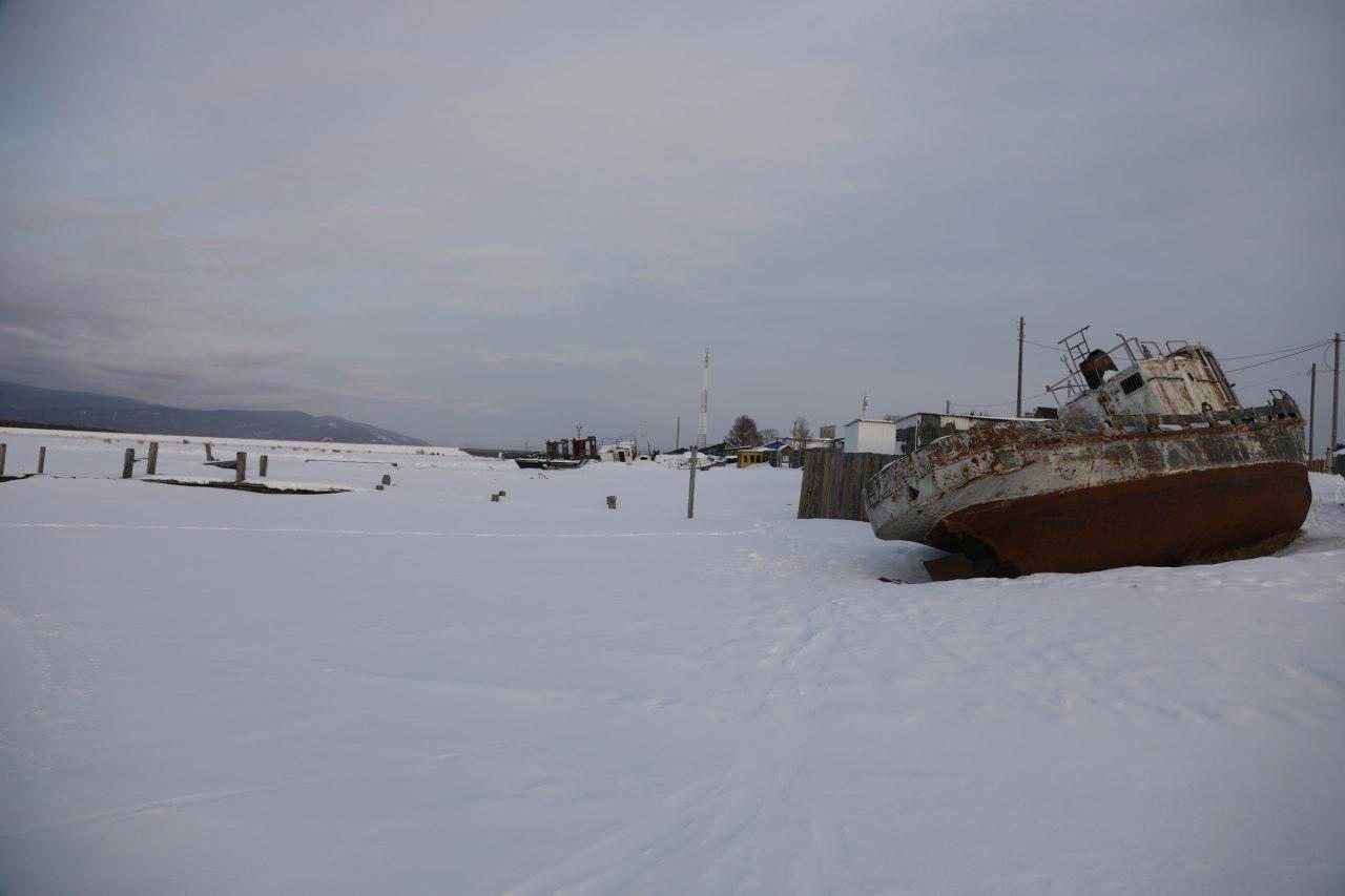 Вечерний Усть-Баргузин. Фото © LIFE