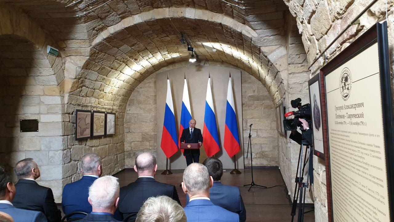 Президент России Владимир Путин. Фото © LIFE / Павел Баранов