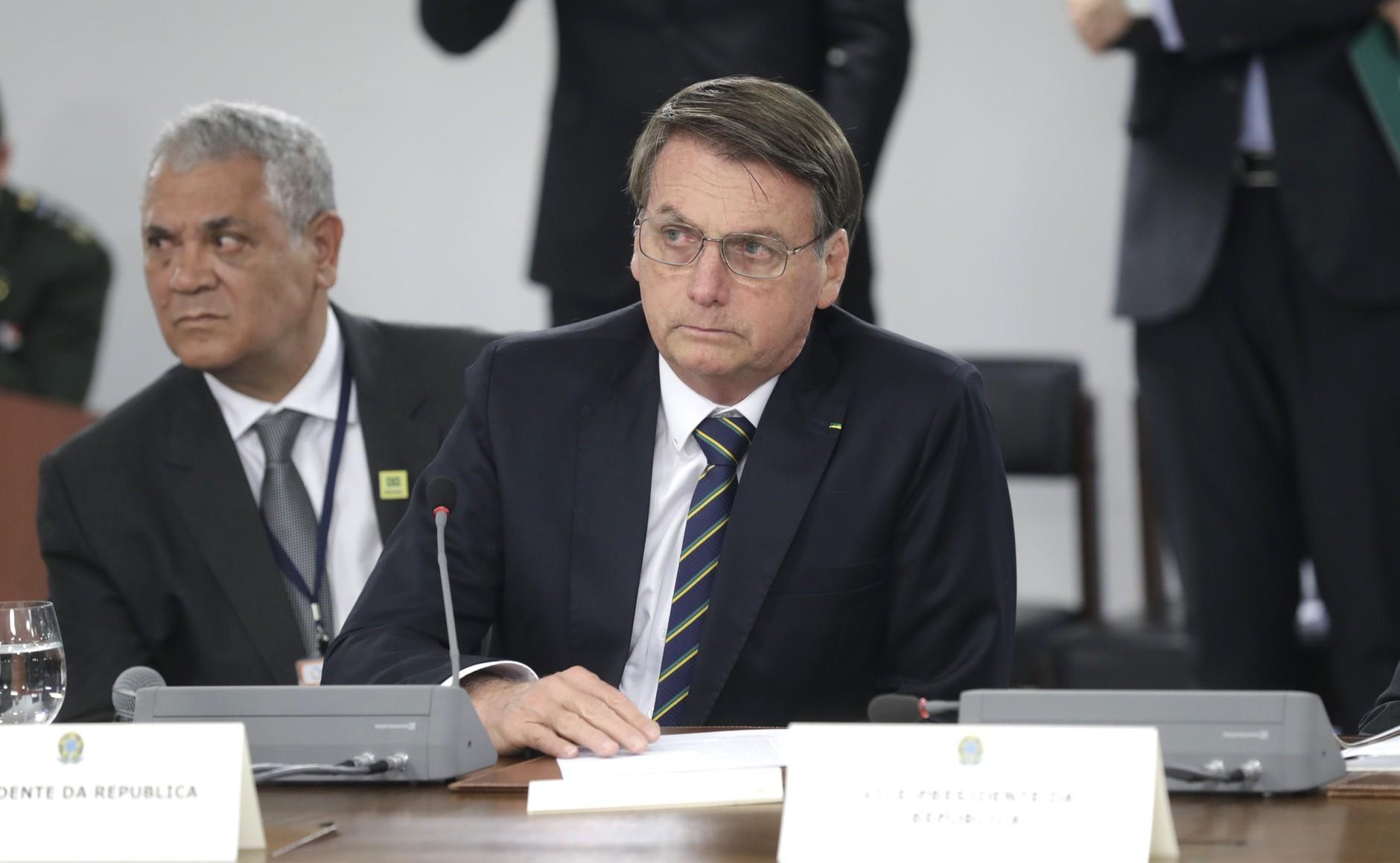 <p>Президент Бразилии Жаир Болсонару. Фото © Kremlin</p>