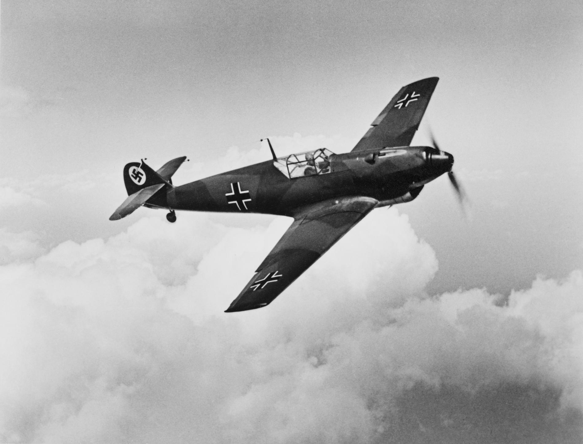 Messerschmitt Bf.109. Фото © shutterstock
